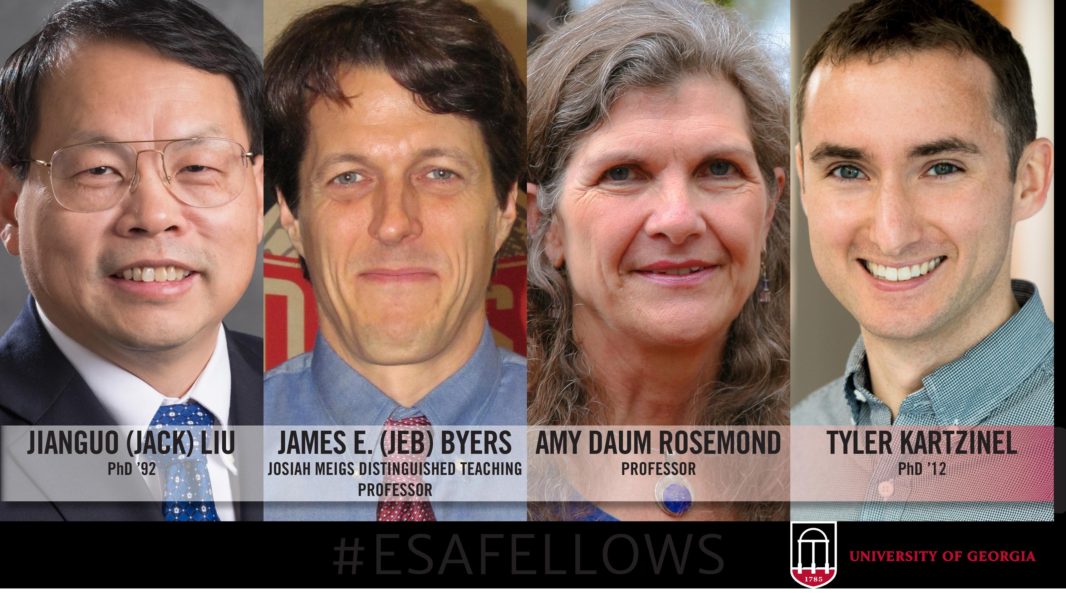 UGA Ecology faculty, alumni among 2018 ESA Fellows