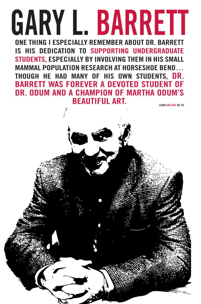 Poster of Gary Barrett