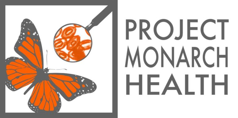 logo of project monarch health at the Odum school of ecology