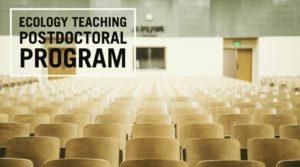 Ecology Teaching Postdoctoral Program