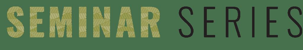 ecology seminar series logo