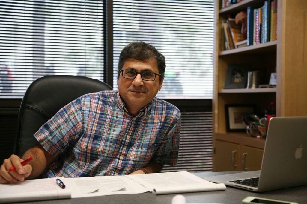 Prof. Pejman Rohani. Photo: Kelly Mayes
