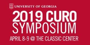 2019 CURO Symposium is April 8-9