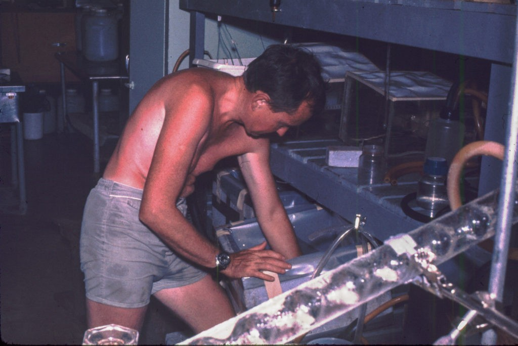 image of marine research