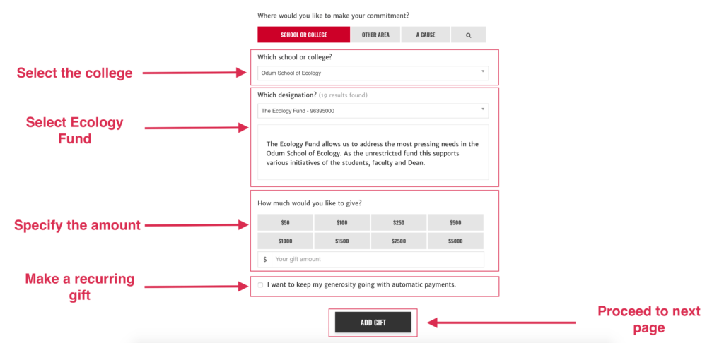 image of the donation process