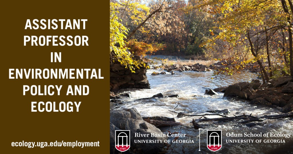 Assistant Professor in Environmental Policy and Ecology job ad