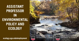 Assistant Professor in Environmental Policy and Ecology